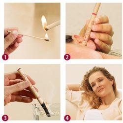 burning ear candle treatment